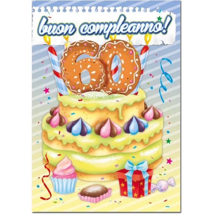 Auguri Di Buon Compleanno Per 60 Anni