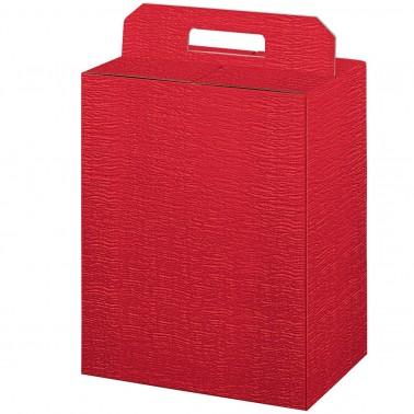 Scatola porta panettone bottiglia ardesia rosso - Scatole porta panettone ...