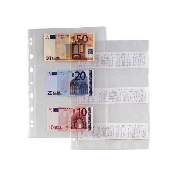 Busta trasparente a foratura universale 22x30 porta - Porta tessere e banconote ...