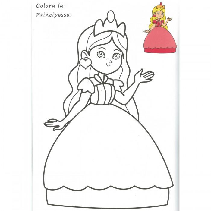 Album da colorare le principesse dalmasso 24 - Libri da colorare gratuiti da stampare ...
