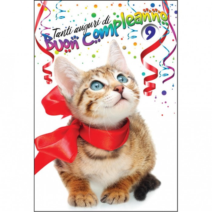 Foto Auguri Compleanno Con Gatti