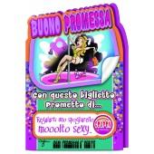BUONO PROMESSA FUSTELLATO 11X17 CROMO