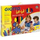STICK & COLOR SET GIOTTO BE-BE' FILA