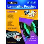 POUCHE PER PLASTIFICATRICE A4 CONF.25 FELLOWES