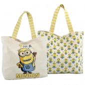 BORSA IN TELA SHOPPING GO BANANA MINIONS