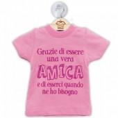 DILLO CON...MINI T-SHIRT AMICA