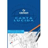 CARTA LUCIDA A4 gr.80 BLOCCO 10 ff. CANSON