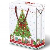 SHOPPER-SCATOLA NATALE IN CARTA XMAS TREE KARTOS