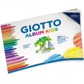 ALBUM DISEGNO 90 GR. GIOTTO KIDS 30 FF. GRANA FINE CANSON