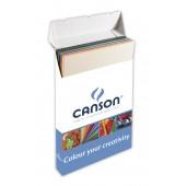 BOX 200 CARTONCINI COLORI MISTI COLORLINE cm. 50X70 gr. 220 CANSON