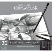 ART SET 20 PZ. BLACK BOX CRETACOLOR