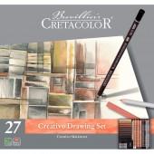 ART SET 27 PZ. CREATIVO CRETACOLOR
