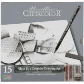 ART SET 15 PZ. SILVER BOX CRETACOLOR