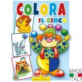 ALBUM DA COLORARE COLORA IL CIRCO