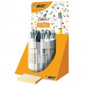 EXPO 30 PENNE SFERA 4 COLOURS MESSAGES BIC