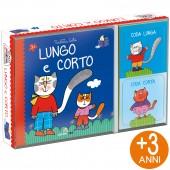 LIBRO GIOCO CARTONATO 13X13 CON GIOCO DI ASSOCIAZIONE LUDATTICA