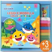 LIBRO GIOCO CARTONATO 16X19 STORIE DA MODELLARE BABY SHARK LEGGI E MODELLA CON LA PLASTILINA LISCIANI LIBRI