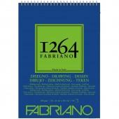 ALBUM DISEGNO SPIRALE 1264 GRANA NATURALE GR. 180 FABRIANO