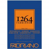 BLOCCO DISEGNO 1264 MARKER GRANA LISCIA 100 FOGLI GR. 70 FABRIANO