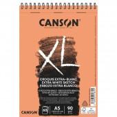 ALBUM DISEGNO SPIRALE XL-EXTRA BLANC GRANA FINE GR.90 CANSON