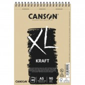 ALBUM DISEGNO spirale XL-KRAFT GR.90 CANSON