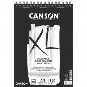 ALBUM DISEGNO SPIRALE XL-DESSIN NOIR GR.150 CANSON