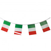 FESTONE BANDIERINE ITALIA CM. 15X10 IN NYLON MT.2,5