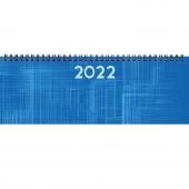 AGENDA PLANNING SETTIMANALE 29,8X10,5 SPIRALPLAST BLU/AZZURRO 2022 NOTABENE