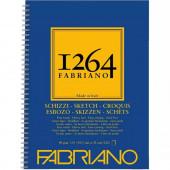 ALBUM DISEGNO SPIRALE 1264 SCHIZZI GRANA NATURALE 60 FOGLI GR.90 FABRIANO