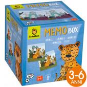 GIOCO EDUCATIVO MEMO BOX ANIMALI LUDATTICA