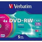 DVD-RW 4X RISCRIVIBILE VERBATIM